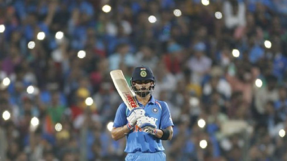 Virat Kohli is sitting pretty at the top of the rankings for batsmen with 895 rating points.