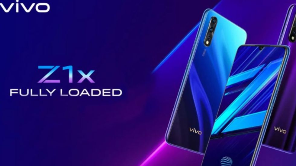Vivo Z1x With 4GB RAM + 128GB To Be Launched In India Soon