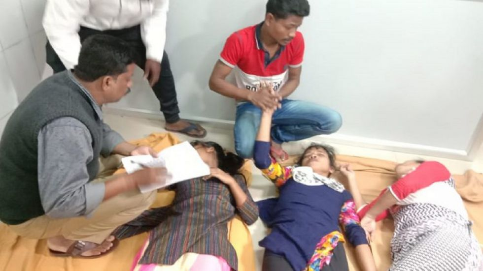 The affected people were taken to the Khantapada primary health centre and 50 of them were later shifted to the district headquarters hospital in Balasore, the officer said.