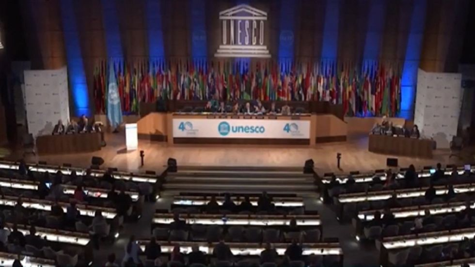 India slammed Pakistan for comments on Ayodhya verdict during the 40th UNESCO General Conference.