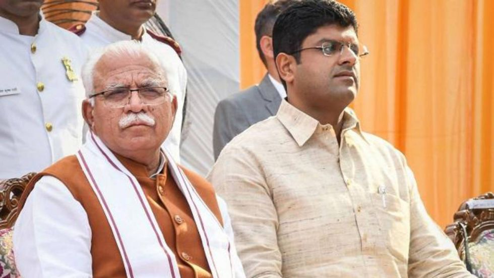 ML Khattar had taken oath as the chief minister on October 27 with Dushyant Chautala as his deputy
