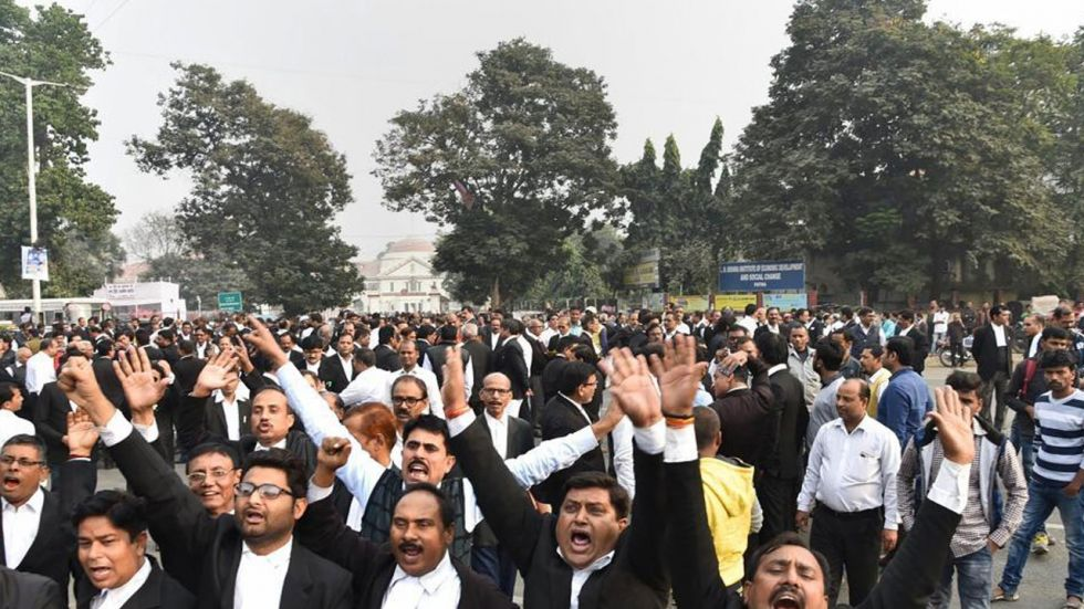 Lawyers in all the six district courts in the national capital had decided to abstain from work following the clash.