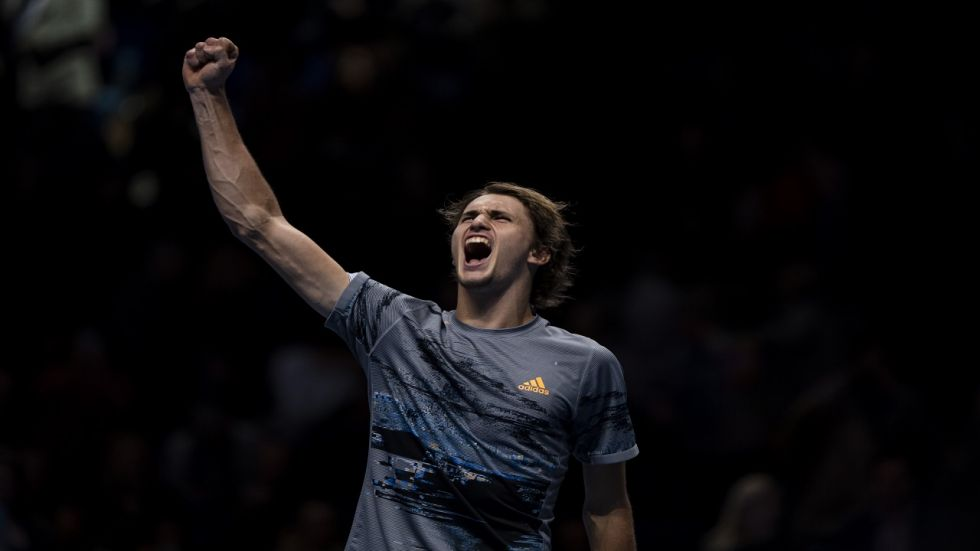 Alexander Zverev qualified for the semifinals of the ATP Finals tournament after beating Daniil Medvedev.