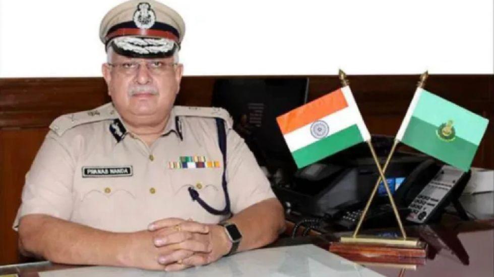 Goa's Director General of Police Pranab Nanda died due to cardiac arrest on Saturday.