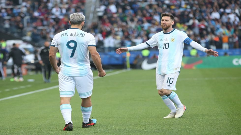 Lionel Messi scored for Argentina as Brazil's winless streak after the Copa America title extended to five games.