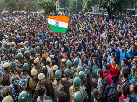 JNUSU Appeals To Students Of Other Universities To Join Its Protest March To Parliament Today
