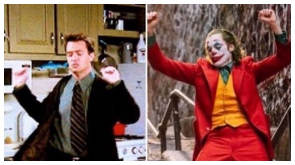 Matthew Perry Is Convinced Joker's Moves Are Copied From Chandler's