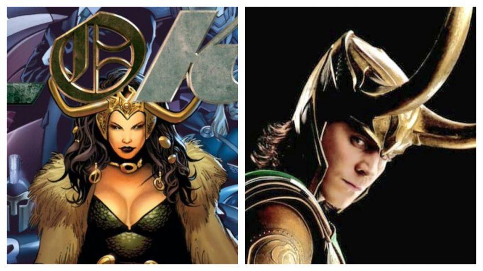 Marvel Loki Series May Have A Female Loki