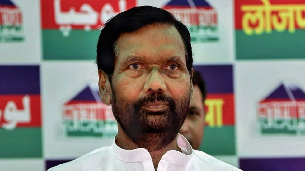 Ram Vilas Paswan said Kejriwal thinks that everyone is wrong and only he is right.
