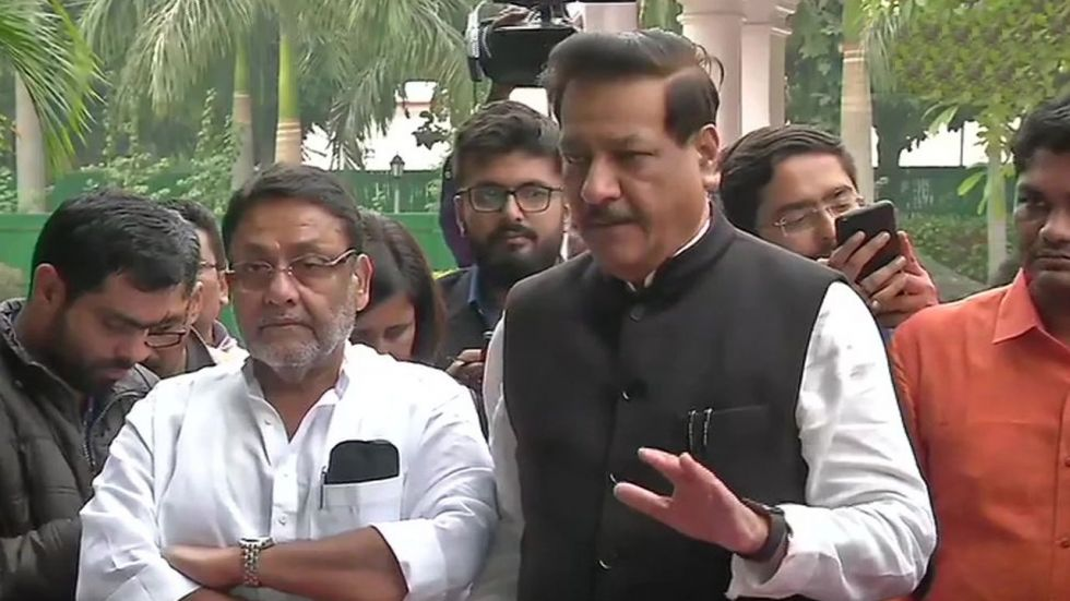 Congress leader Prithviraj Chavan said that there is complete unanimity between them and both the parties will now have a discussion with Shiv Sena tomorrow.