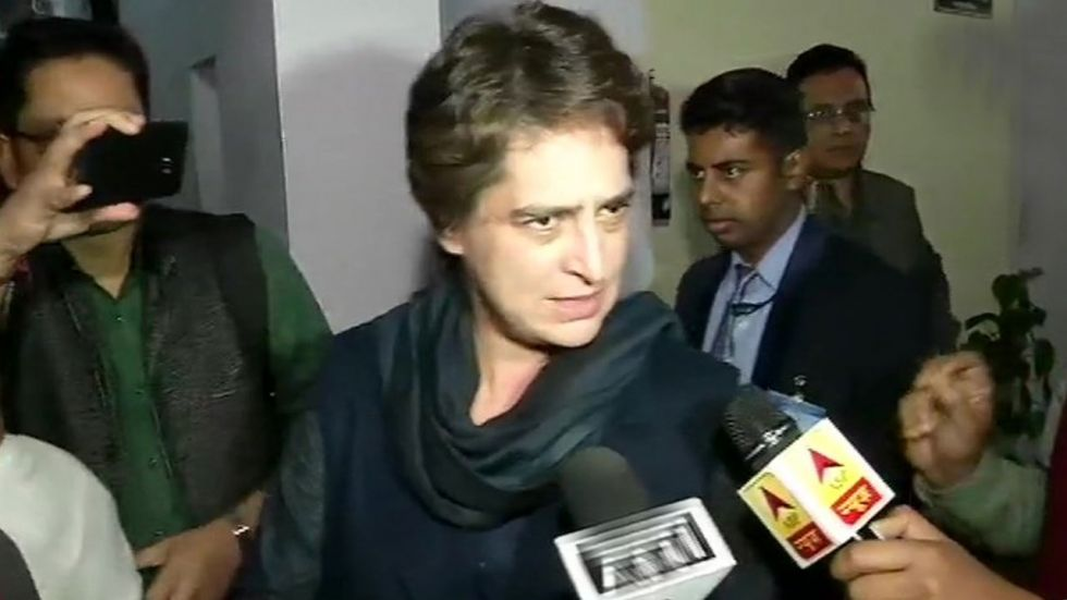 Congress general secretary Priyanka Gandhi Vadra also said the country's economy is in a 'bad state.'