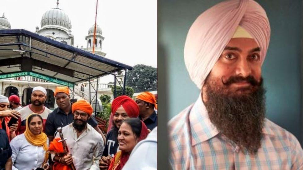 Laal Singh Chaddha: Aamir Khan Visits Gurudwara Bhatta Sahib
