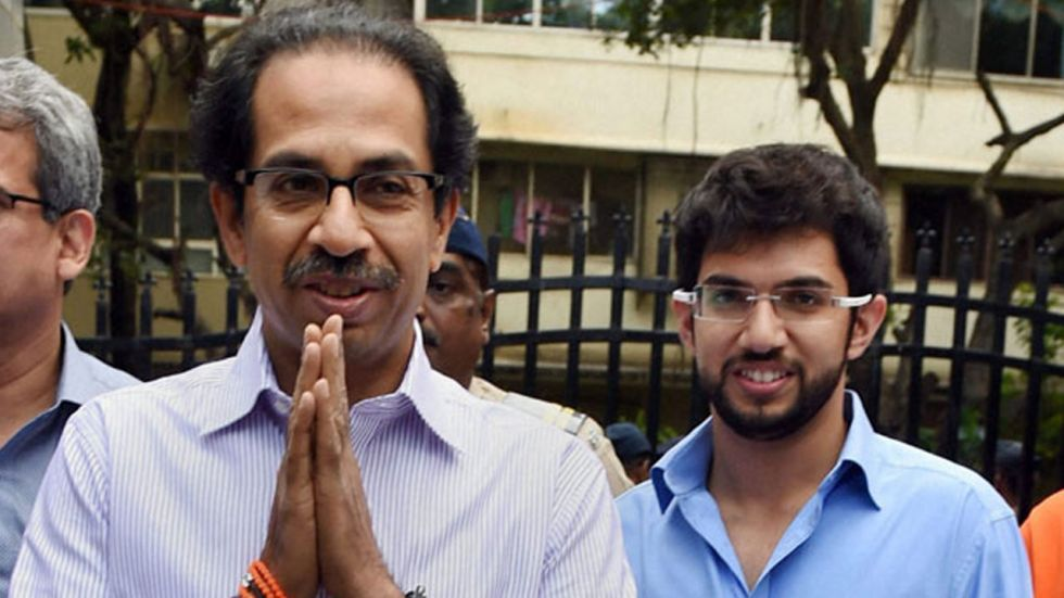 Uddhav and Aditya Thackeray called on Sharad Pawar after he arrived from New Delhi in the evening.