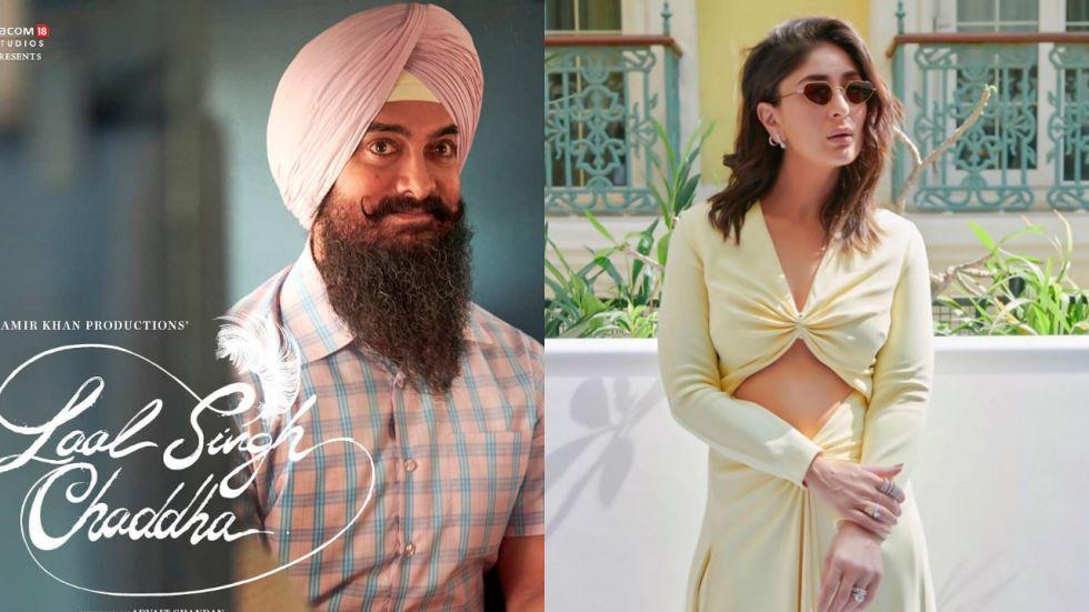 Kareena Kapoor and Aamir Khan shoot for Laal Singh Chaddha.