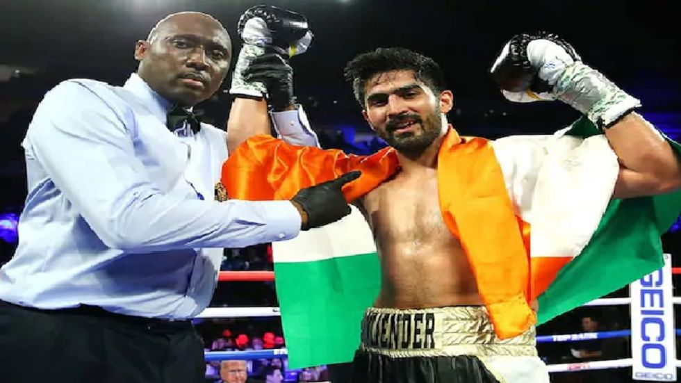 Vijender's four-year unbeaten streak in the professional circuit remained intact.