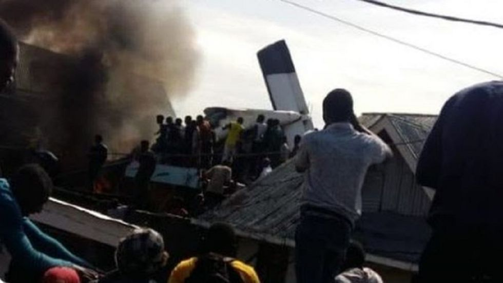 Light plane crashes into DR Congo city, 23 bodies found: Rescue service