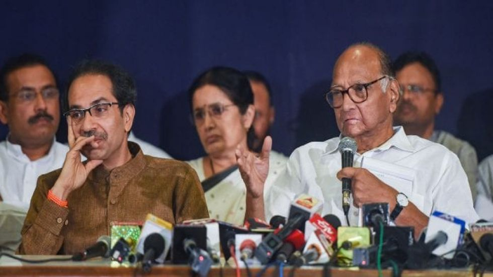 The political shocker came a day after the NCP, the Shiv Sena and the Congress almost finalised an arrangement to form a coalition in the state, which was under President's rule.