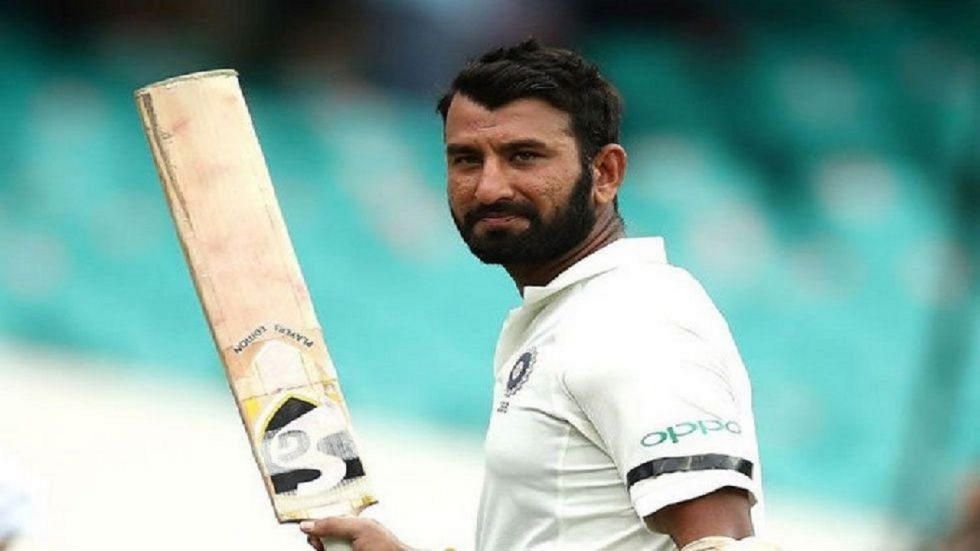 Cheteshwar Pujara on Saturday said facing the pink ball under lights was challenging but once the dew intervened, batting became easier.
