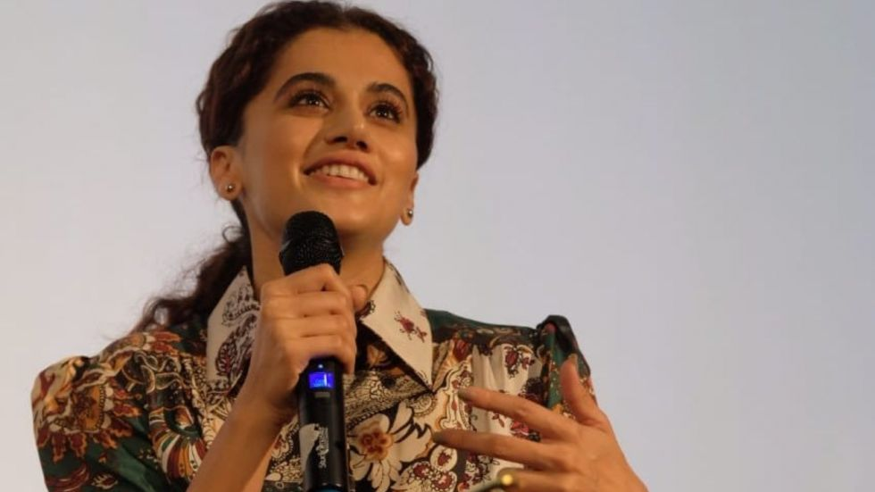 Taapsee Pannu Addresses Issue Of Gender Pay Gap In Bollywood