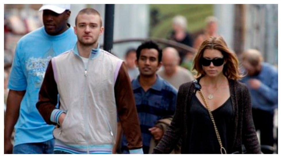 Justin Timberlake Captured 'Holding Hands' With Alisha Wainwright
