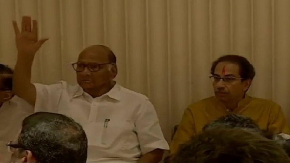 Uddhav Thackeray Appointed Leader Of Shiv Sena-Congress-NCP-Alliance