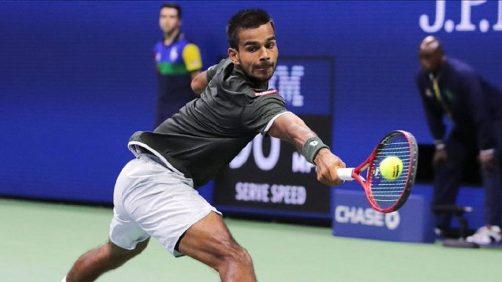Ramkumar Ramanathan double-bageled 17-year-old Muhammed Shoaib in just 42 minutes in the opening singles.