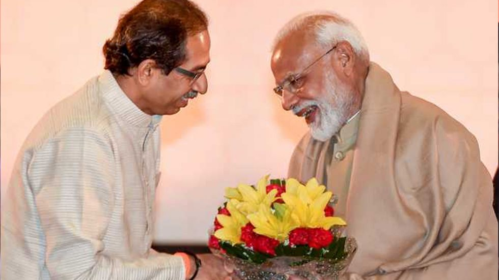 Maharashtra Chief Minister Uddhav Thackeray and PM Modi