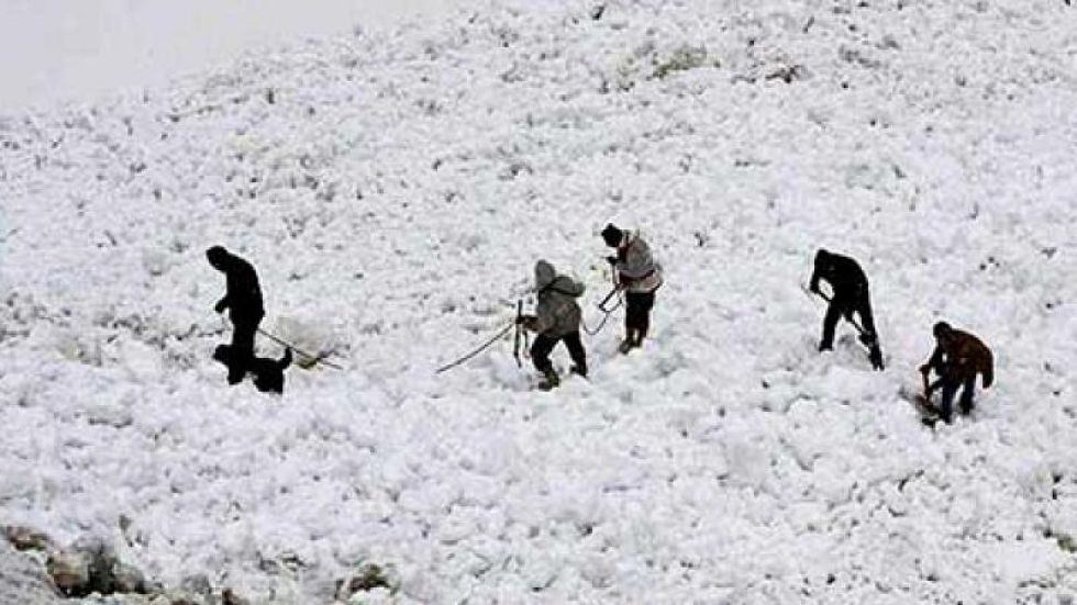 2 Indian Army personnel killed in avalanche in Southern Siachen Glacier.