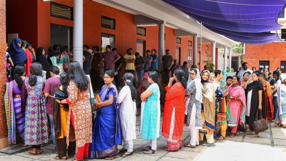 The first of the five-phase polling began in 13 assembly constituencies in Jharkhand on Saturday.