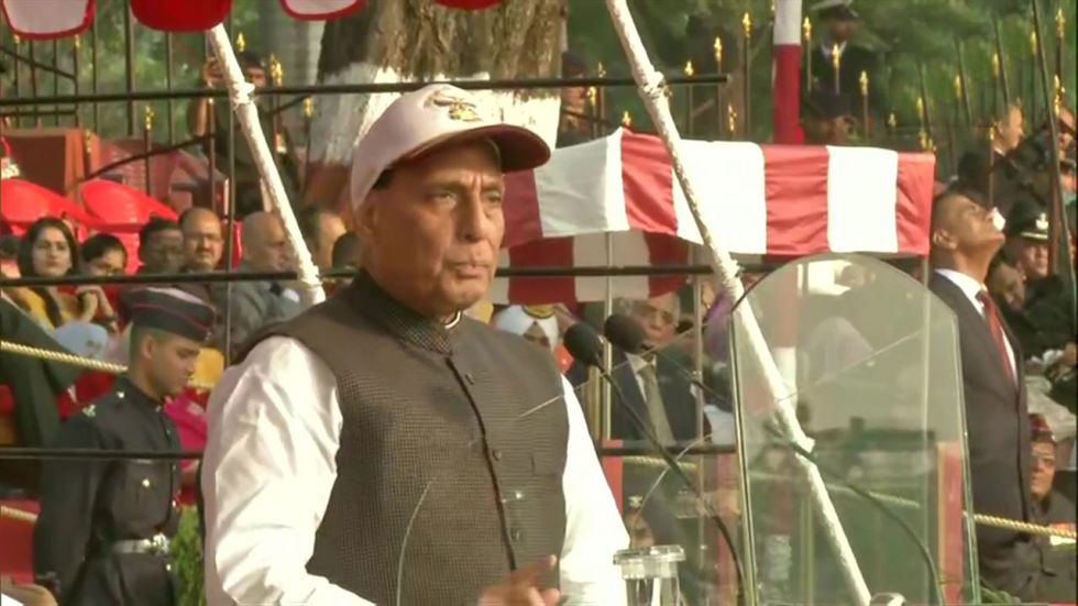 Rajnath Singh said India always had cordial and friendly relations with other countries.