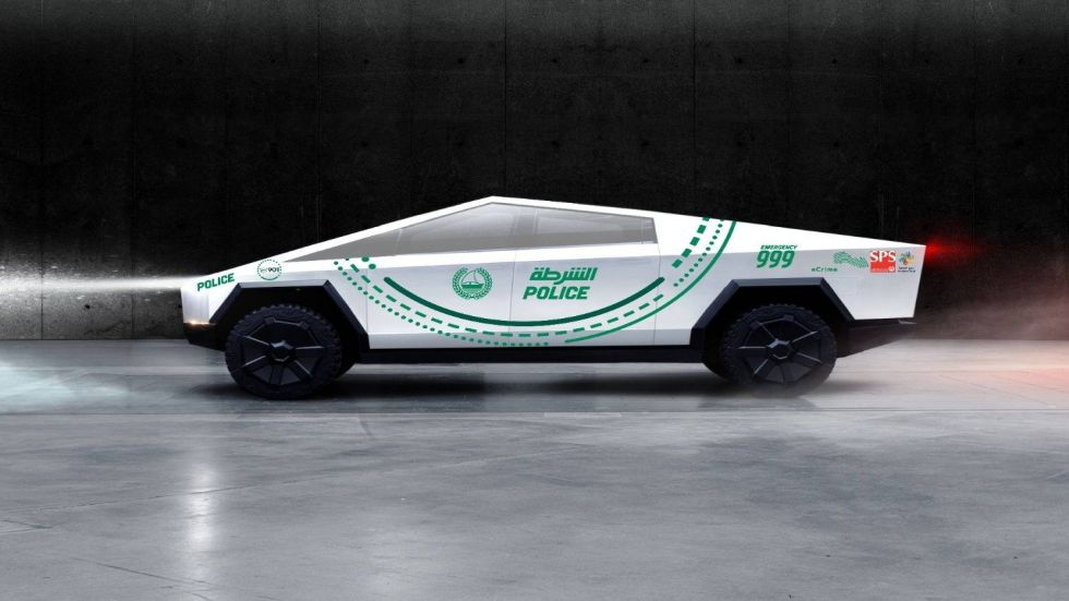 Tesla's Cybertruck Set To Join Dubai Police Fleet In 2020