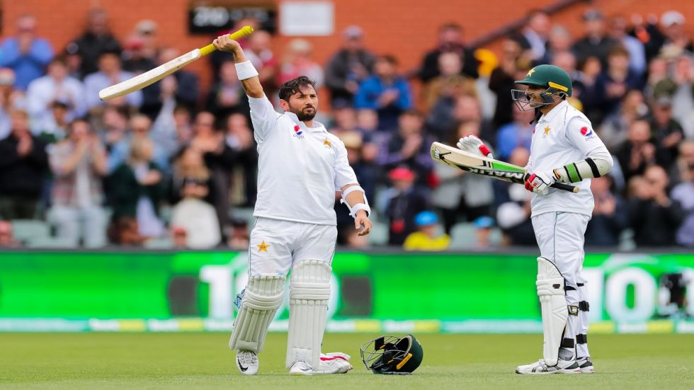 Yasir Shah became the seventh Pakistan player batting at number eight to hit a century in overseas Tests.