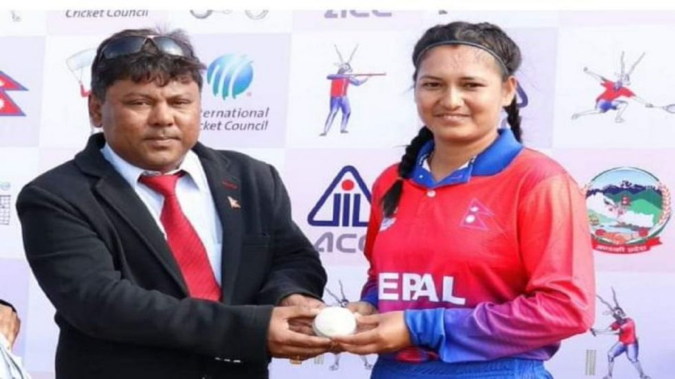 Anjali Chand took 6/0 in two overs as Nepal bowled out Maldives for 16 with no player reaching double figures.