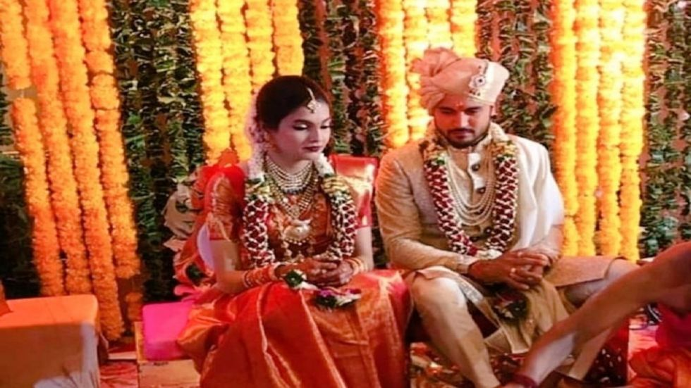 Manish Pandey married south indian actress Ashrita Shetty after his heroic performance in the Syed Mushtaq Ali Trophy which Karnataka won by one run against Tamil Nadu.