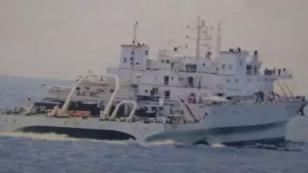 According to sources, the vessel could have also been used by the Chinese to spy on the Indian activities.