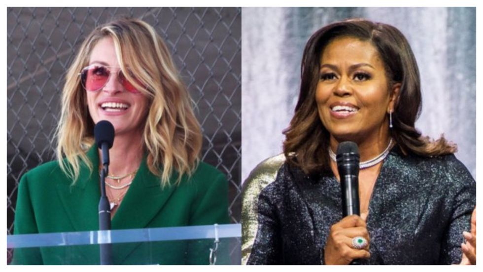 Michelle Obama, Julia Roberts Join Hands To Promote Girl Education In Asia