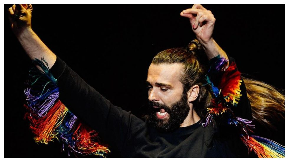 Jonathan Van Ness Is First 'Non-Female' To Grace Cosmo Cover