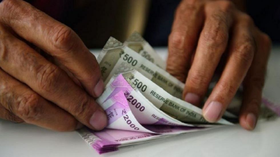 The Indian rupee opened on a weak note and fell 12 paise to 71.78 against the US dollar in early trade on Wednesday.