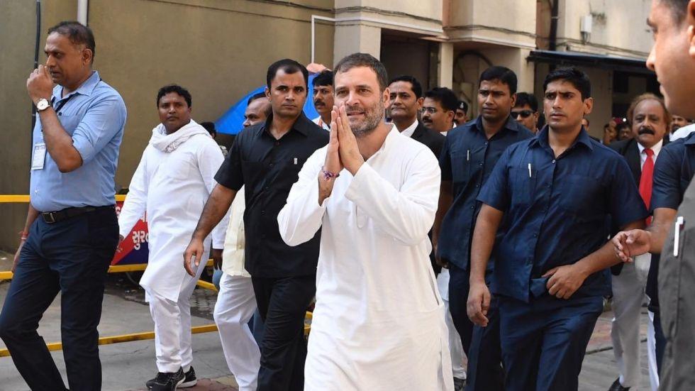 Rahul Gandhi mocked Vinayak Damodar Savarkar while addressing the 'Bharat Bachao Rally' in Delhi
