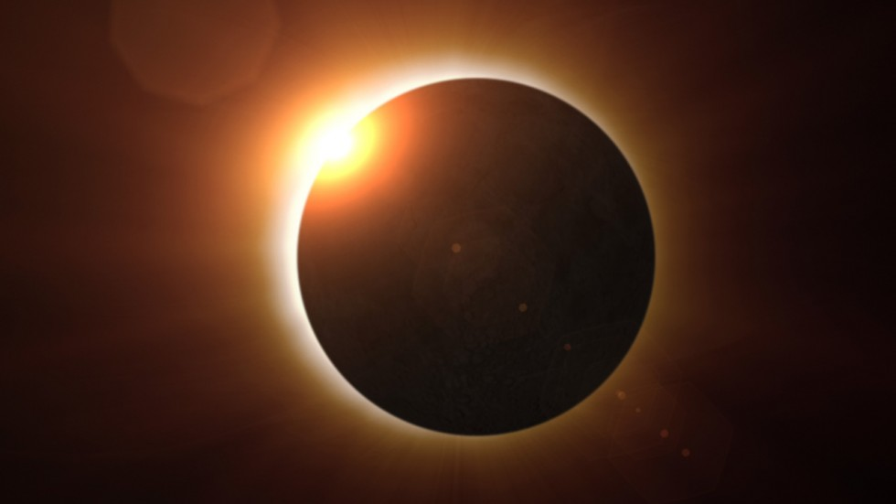 The best method to view the solar eclipse will be to use a pinhole camera or a telescopic projection on a suitable surface.