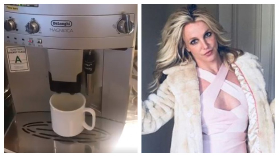 Tweeple Goes Gaga Over Coffee Machine That Sounds Like 'Britney Spears'
