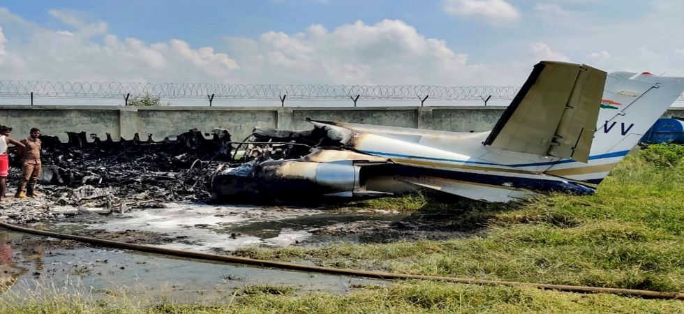 VT-AVV trainer aircraft crash: No injuries were reported in the incident