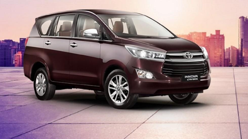 Toyota Kirloskar Opens Booking For BS-VI Innova Crysta