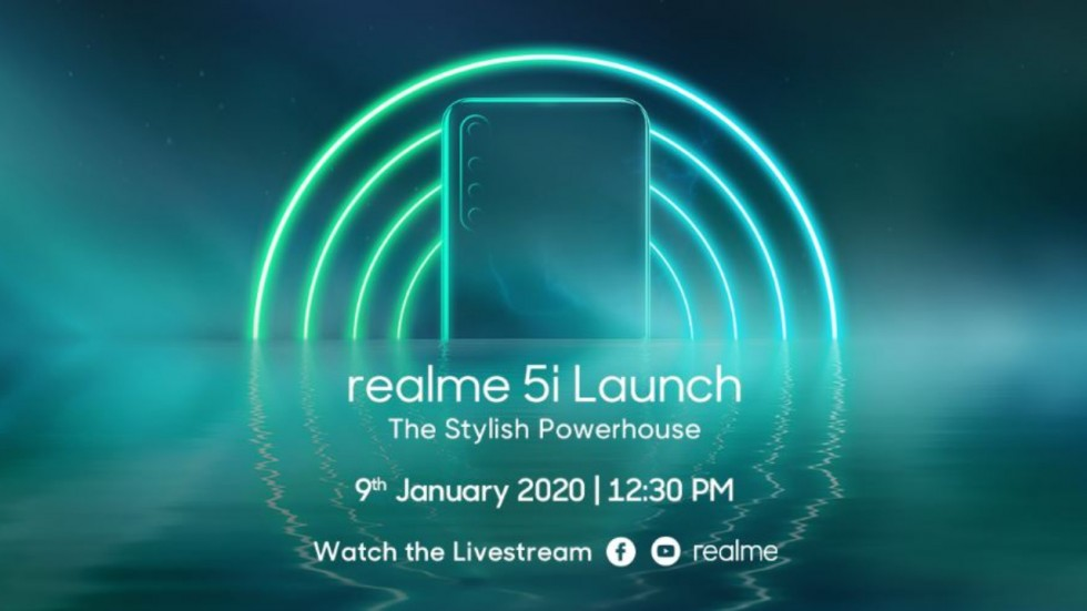 Realme 5i India Launch On January 9