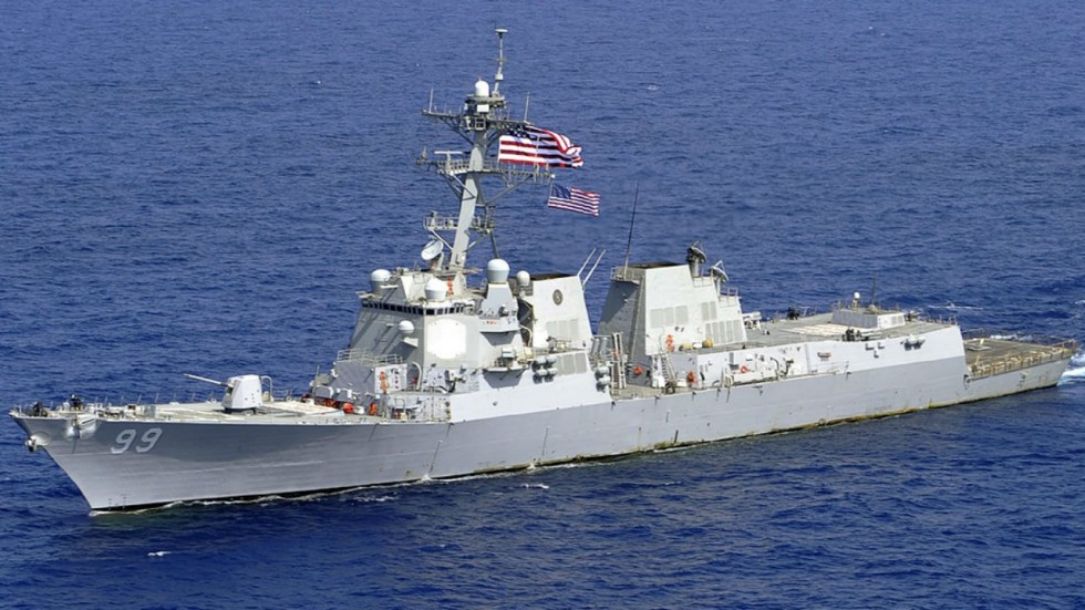 USS Farragut (DDG 99) was aggressively approached by a Russian Navy ship, claimed US Navy