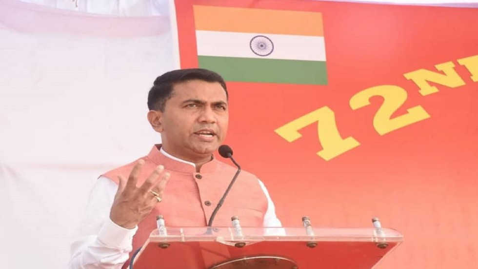Goa Chief Minister Pramod Sawant was the chief guest of the 'Know your Army Mela 2020' event.