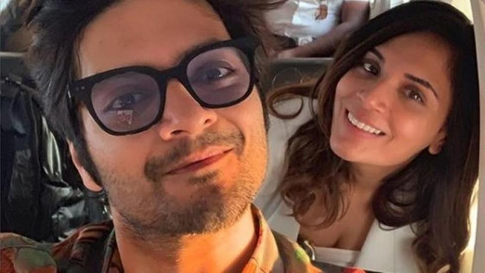 Richa Chaddha and Ali Fazal