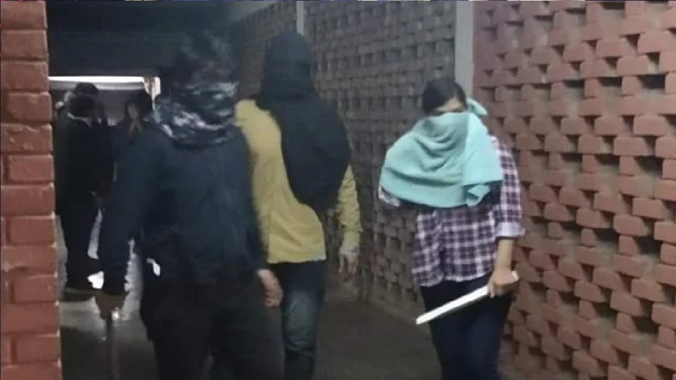 34 people, including students and faculty, were injured on January 5 when the masked mob entered the JNU campus and attacked them with rods and sledgehammers.