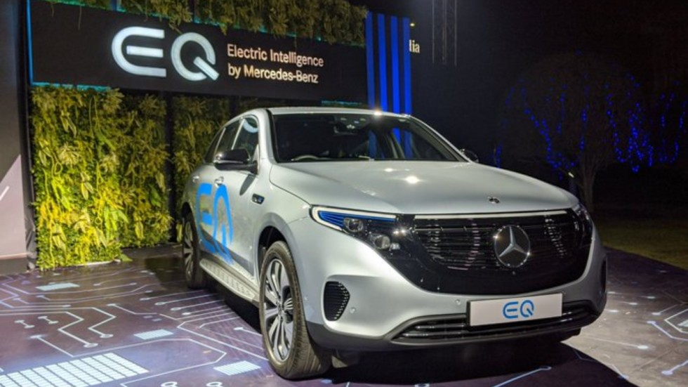 EQC edition1886 is essentially very close to the car that will be introduced in April, Mercedes-Benz India MD and CEO Martin Schwenk said.