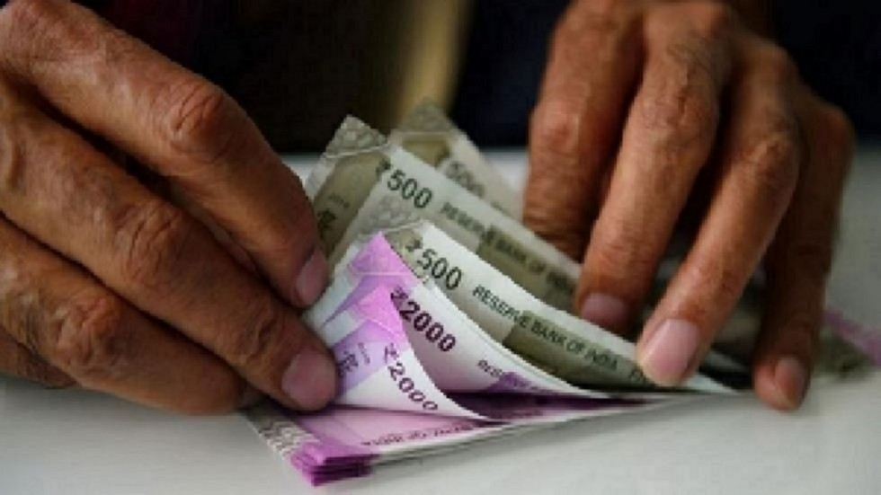 At the interbank foreign exchange, the rupee opened weak at 71.01, showing a decline of 14 paise over its previous closing.